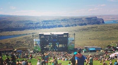 Photo of Music Venue The Gorge Amphitheatre at 754 Silica Rd Nw, Quincy, WA 98848, United States