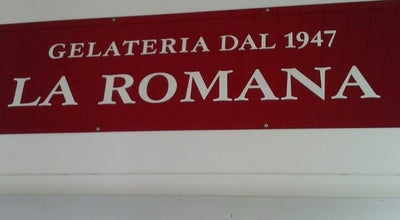 Photo of Ice Cream Shop La Romana Gelateria at Via Cipro 154, Brescia, Lombardia, Italy