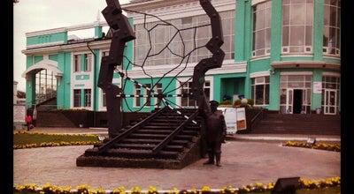Photo of Monument / Landmark Памятник у Пригородного вокзала at Омск, Russia