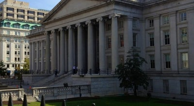 Photo of Government Building US Department of the Treasury at 1500 Pennsylvania Ave Nw, Washington, DC 20229, United States