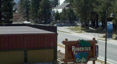 Photo of Mexican Restaurant Roberto's Cafe at 271 Old Mammoth Rd., Mammoth Lakes, CA 93546, United States