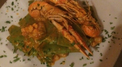 Photo of Italian Restaurant Le Mani In Pasta at Via Del Molo, 45r, Genova, Italy