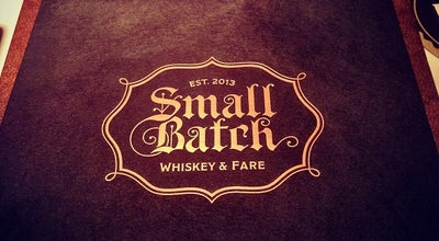 Photo of Whisky Bar Small Batch at 3001 Locust St, Saint Louis, MO 63103, United States