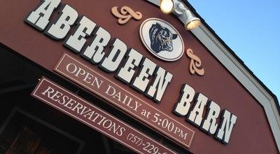 Photo of Steakhouse Aberdeen Barn at 1601 Richmond Rd, Williamsburg, VA 23185, United States