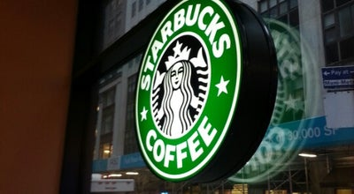 Photo of Coffee Shop Starbucks at 1460 Broadway, New York, NY 10036, United States
