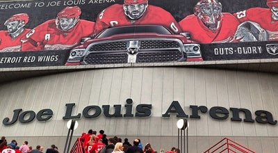 Photo of Hockey Arena Joe Louis Arena at 600 Civic Center Dr, Detroit, MI 48226, United States