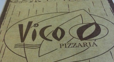 Photo of Pizza Place Vico Pizzaria at R. Para, 215, Americana 13465-000, Brazil