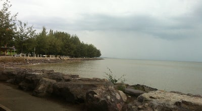 Photo of Beach Tepi laut pontian at Malaysia
