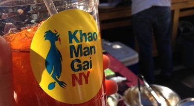 Photo of Thai Restaurant Khao Man Gai NY at Hester Street, New York, NY 10002, United States