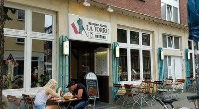 Photo of Pizza Place Pizzeria La Torre at Rosenplatz 15, Münster 48143, Germany