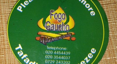 Photo of Brazilian Restaurant Fogo Gaucho Brazilian BBQ at Waiyaki Way, Nairobi , Kenya 00100, Kenya