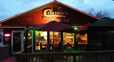 Photo of American Restaurant Cordons Taste Of Chicago at 4304 W Freddy Gonzalez Dr, Edinburg, TX 78539, United States