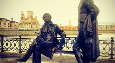Photo of Monument / Landmark Памятник Пушкину и Онегину at Ул. Пушкина, Йошкар-Ола, Russia