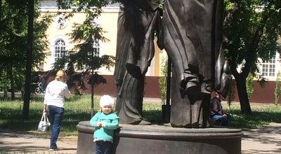 Photo of Monument / Landmark Памятник Петру и Февронии at Омск, Russia
