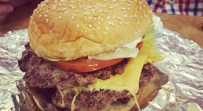 Photo of Burger Joint Five Guys Burgers & Fries at 5-6 Argyll St, Oxford Circus W1F 7TE, United Kingdom