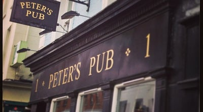 Photo of Pub Peter's Pub at 1 Johnson's Place, Dublin 2, Ireland