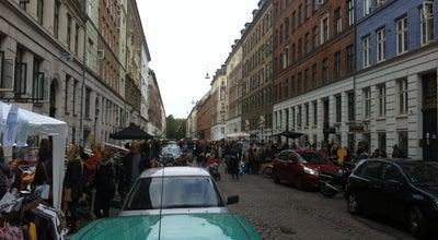 Photo of Flea Market Loppemarked Jægersborggade at København, Denmark