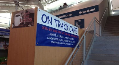 Photo of Breakfast Spot On Track Cafe at Amtrak 128 Station, Westwood, MA, United States