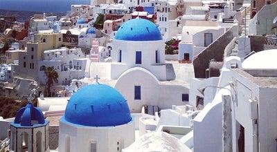 Photo of Village Οία (Oia) at Οία, Σαντορίνη 847 02, Greece