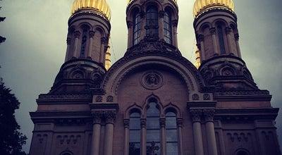 Photo of Church Russisch-Orthodoxe Kirche der heiligen Elisabeth (Griechische Kapelle) at Christian-spielmann-weg 2, Wiesbaden 65193, Germany