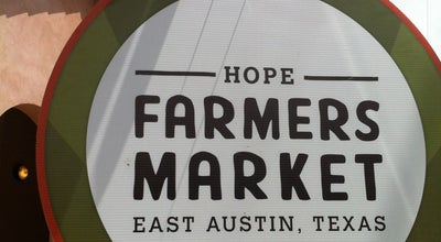 Photo of Farmers Market HOPE Farmers Market at 414 Waller St, Austin, TX 78702, United States