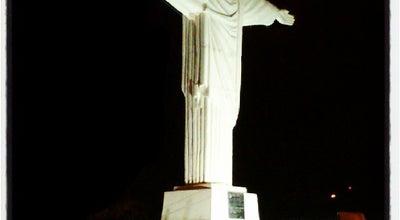 Photo of Monument / Landmark Cristo - Imagem do Salvador at Av. Manoel Goulart, Presidente Prudente, Brazil