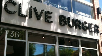 Photo of Burger Joint Clive Burger at 736 17th Ave Sw, Calgary, AB T2S 0B7, Canada