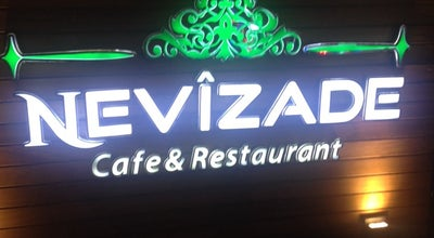Photo of Cafe Nevîzade Cafe & Restaurant at Ayanbey Mh. Yeni Meram Cad. No:247/1, Meram 42090, Turkey