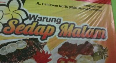 """Photo of Diner Warung & Lesehan """"Sedap Malam"""" at Jl. Mojopahit No. 485, Mojokerto, Indonesia"""