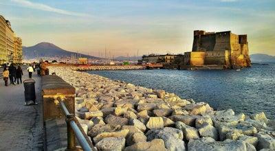 Photo of Scenic Lookout Lungomare di Napoli at Via Francesco Caracciolo - Via Partenope - Via Nazario Sauro, Napoli 80121, Italy