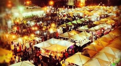 Photo of Night Market ตลาดนัดการกีฬาไนท์บาซ่าร์ (SAT Night Bazaar) at 286 Ramkhamhaeng Rd., Bang Kapi 10240, Thailand