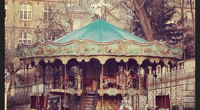 Photo of Theme Park Ride / Attraction Carousel de Montmartre at Square Louise Michel, Paris 75018, France