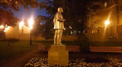 Photo of Outdoor Sculpture Одинокий Ленин на Часовой at Часовая,19-23, Москвп, Russia