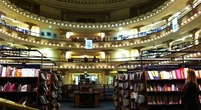 Photo of Bookstore El Ateneo Grand Splendid at Av. Santa Fé 1860, Recoleta 1123, Argentina