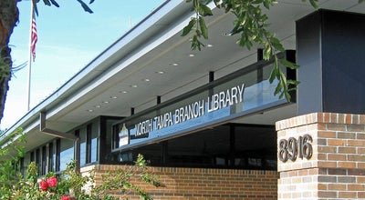 Photo of Library North Tampa Branch Library at 8916 N Boulevard, Tampa, FL 33604, United States