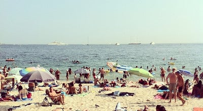 Photo of Beach Plage de Juan-les-Pins at Boulevard Du Littoral, Juan-les-Pins 06160, France