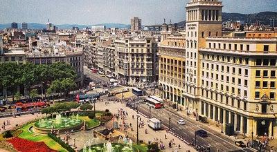Photo of Plaza Plaça de Catalunya at Pl. Catalunya, Barcelona 08002, Spain