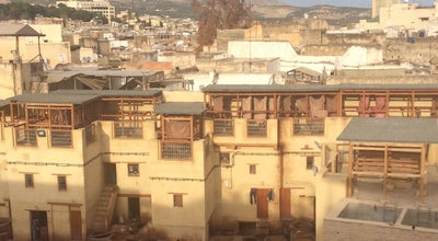 Photo of Historic Site Terrasse Des Tanneurs at Medina De Fes, Morocco
