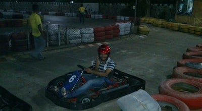 Photo of Racetrack Kart Attack at Sports Centre, Chennai, India