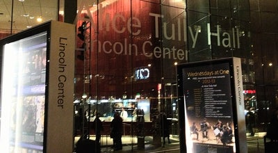 Photo of Concert Hall Alice Tully Hall at 1941 Broadway, New York, NY 10023, United States