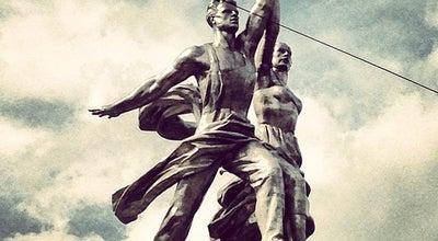 Photo of Monument / Landmark МВЦ «Рабочий и колхозница» at Просп. Мира, 123б, Москва, Russia