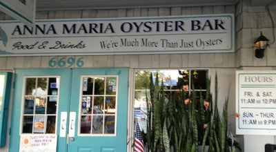 Photo of Seafood Restaurant Anna Maria Oyster Bar at 6696 Cortez Rd W, Bradenton, FL 34210, United States