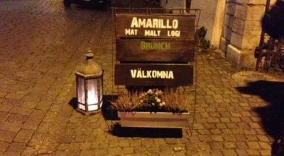 Photo of Gastropub Amarillo Visby at Södra Kyrkogatan 5b, Visby, Sweden
