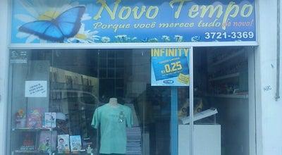 Photo of Bookstore Livraria Novo Tempo at Maximino Porpino, Castanhal, Brazil