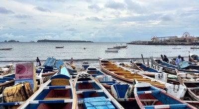 Photo of Beach Sombedioune fish market at Corniche Ouest, Dakar, Senegal