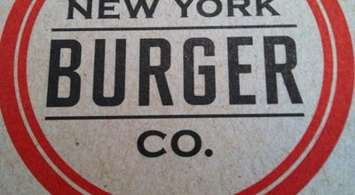 Photo of American Restaurant New York Burger Co. at 470 W 23rd St, New York, NY 10011, United States