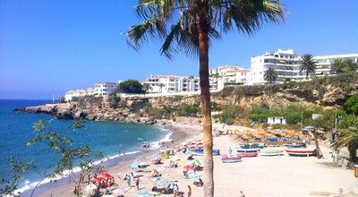 Photo of Beach Playa El Salón at Balcón De Europa, Nerja 29780, Spain