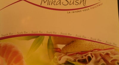 Photo of Sushi Restaurant Mika sushi at 49 Rue Racine, 69100 Villeurbanne, Villeurbanne 69100, France