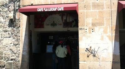 Photo of Cafe Café La Lucha at Bartolomé De Las Casas 305 B, Morelia, Mexico