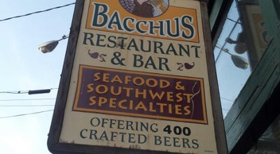 Photo of Gastropub Bacchus Restaurant & Bar at 4 S Chestnut St, New Paltz, NY 12561, United States